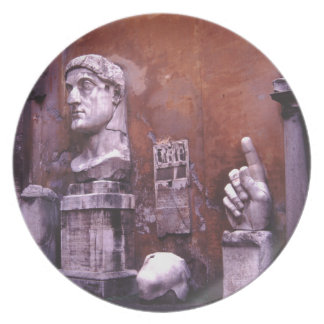Rome Sculpted Body Parts Plate