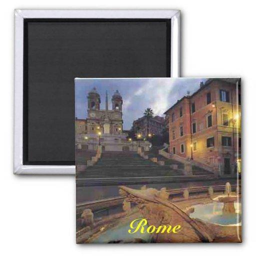 rome spanish steps magnet