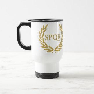 Rome SPQR Roman Senate Seal Travel Mug