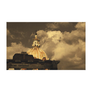'Rome' Statement Photographic Canvas