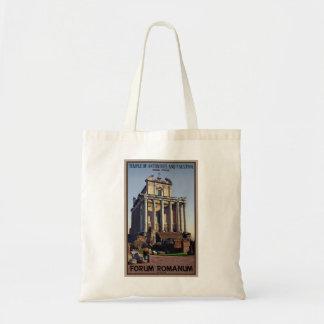 Rome - Temple of Antoninus and Faustina Tote Bags