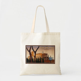 Rome - Temple of Venus and Roma Canvas Bags