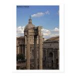 Rome - Temple of Vespasian and Titus Postcard