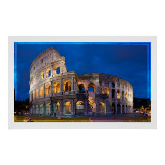 Rome The Colosseum Poster