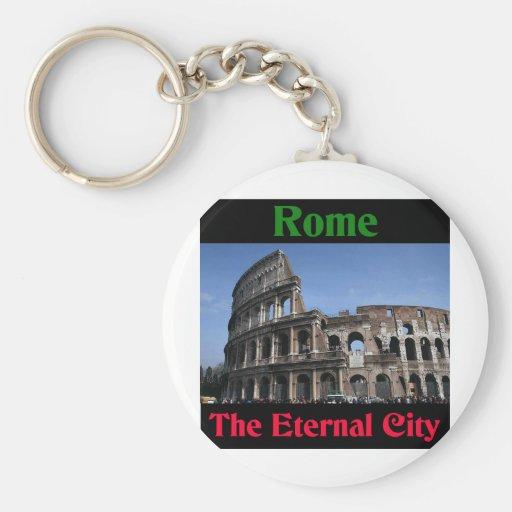 Rome The Eternal City.. Basic Round Button Keychain