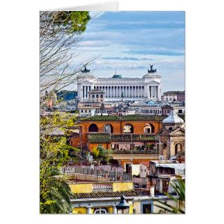 Rome, the eternal city. card