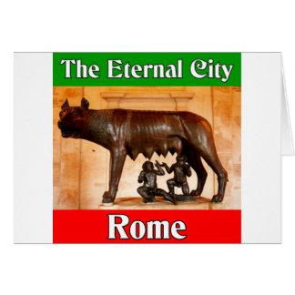 Rome The Eternal City Card