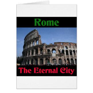 Rome The Eternal City.. Card