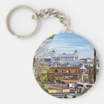 Rome, the eternal city. keychains