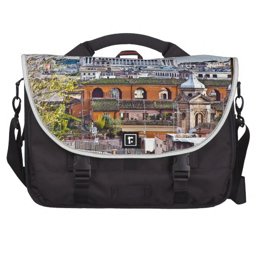 Rome, the eternal city. bag for laptop