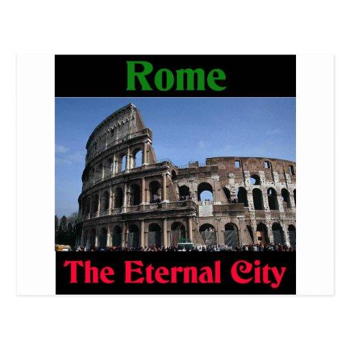 Rome The Eternal City.. Post Card