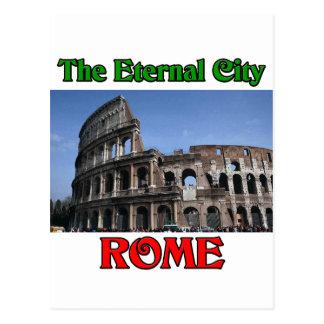 Rome  The Eternal City Postcard