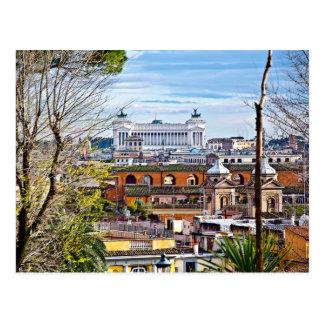 Rome, the eternal city. postcard