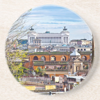 Rome, the eternal city. sandstone coaster