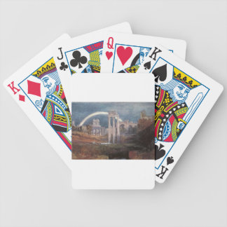 Rome, The Forum with a Rainbow by William Turner Bicycle Playing Cards