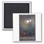 Rome - The Pantheon 2 Inch Square Magnet