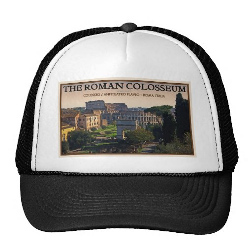 Rome - The Roman Forum and Colosseum Hats