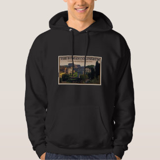 Rome - The Roman Forum and Colosseum Hooded Pullovers