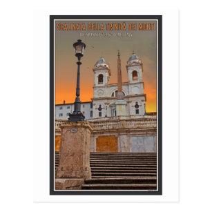 Rome   The Spanish Steps Postcard