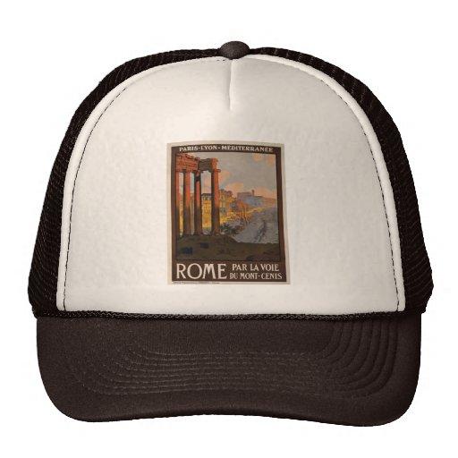 Rome through the Mont-Cenis Trucker Hat