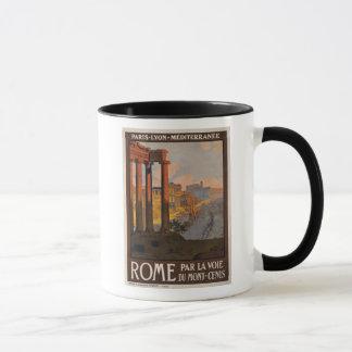 Rome through the Mont-Cenis Mug