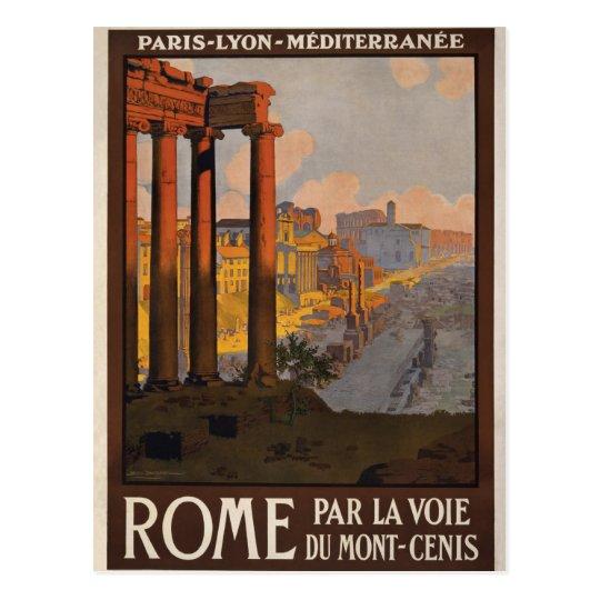 Rome through the Mont-Cenis Postcard