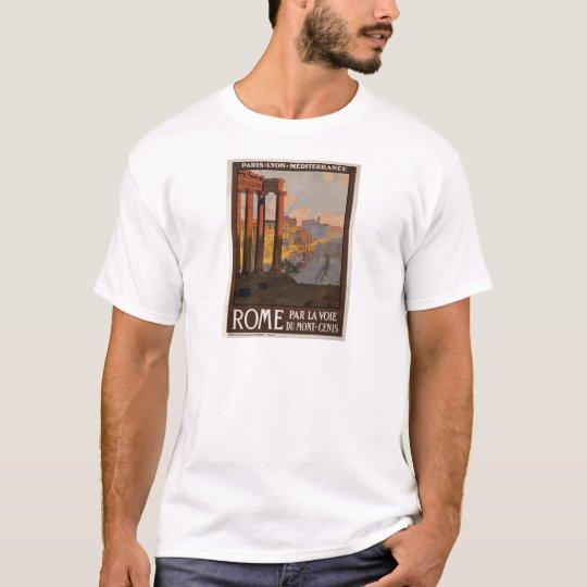 Rome through the Mont-Cenis T-Shirt