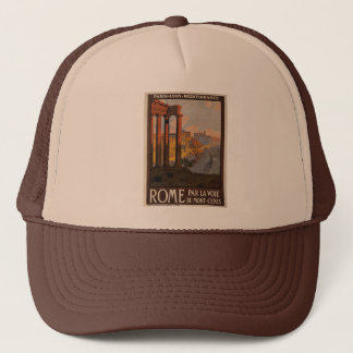 Rome through the Mont-Cenis Trucker Hat