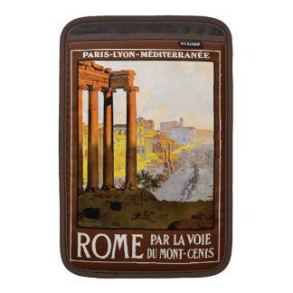 Rome Travel Poster Vintage MacBook Air Sleeves