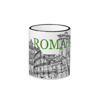 rome travel souvenir coffee mug - Customized