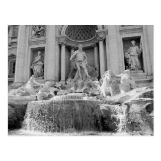 Rome, Trevi Fountain Postcard