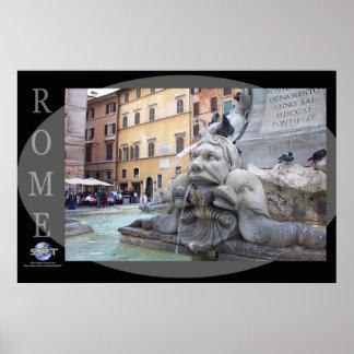 ROME - Trevi Fountain Print