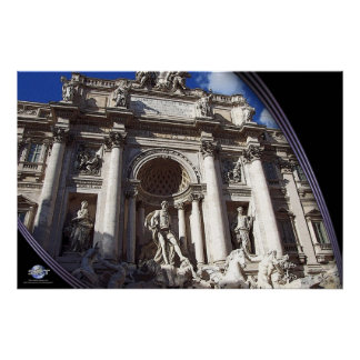 ROME - Trevi Fountain Posters