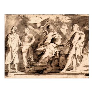 Rome Triumphs by Paul Rubens Postcards