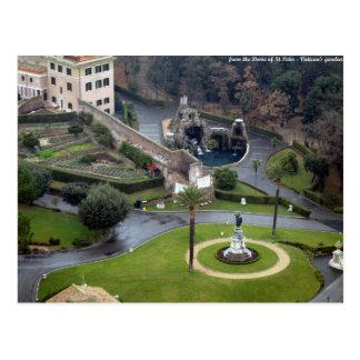 rome - vatican city postcard