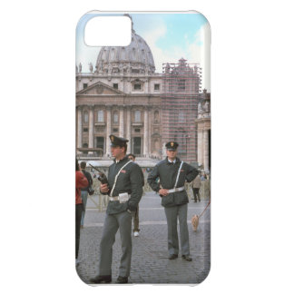 Rome, Vatican, Italian Police in the Square Cover For iPhone 5C