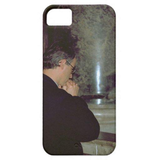 Rome, Vatican, Prayer in a side chapel iPhone SE/5/5s Case