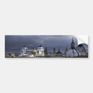 Rome View from Castel Sant'Angelo Bumper Sticker