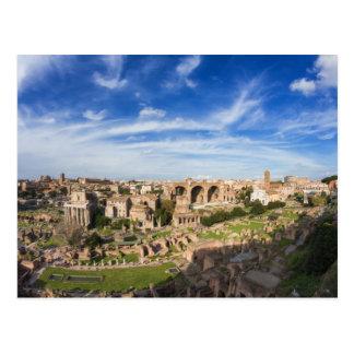 Rome - View of the Forum Romanum postcard