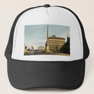 Rome: View of the Piazza di San Giovanni Trucker Hat