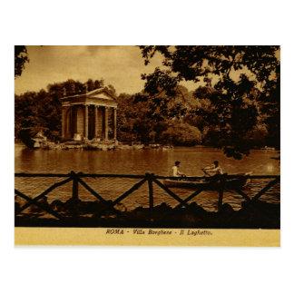 Rome Villa Borghese Postcard