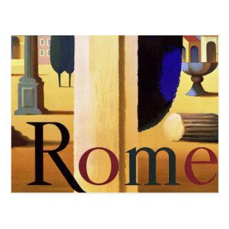 ROME - Vintage Travel Postcard