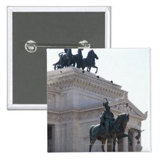 Rome. Vittorio Emanuele monument Pinback Button