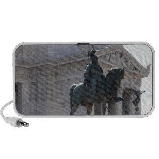 Rome. Vittorio Emanuele monument Portable Speaker
