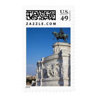 Rome, Vittorio Emanuele Monument Postage