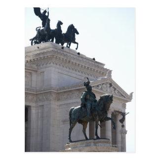 Rome. Vittorio Emanuele monument Postcard