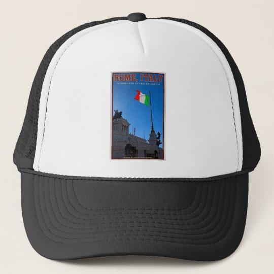 Rome - Vittorio Monument Trucker Hat