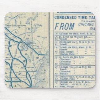 Rome, Watertown and Ogdensburg Railroad Mouse Pad