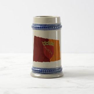 Rome Waving Flag Coffee Mug