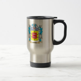 Romei Coat of Arms - Family Crest 15 Oz Stainless Steel Travel Mug